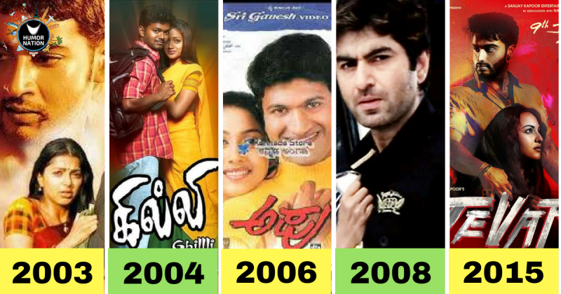 Indian Movies That Have Too Many Remakes