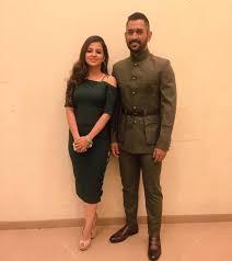 Image result for dhoni and sakshi