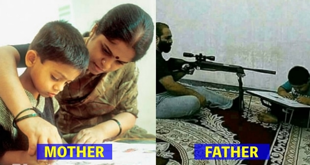 23 Crazy Comparisons B/W Mom And Dad's Parenting will leave you in Splits