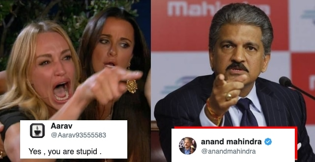 A Twitter User Called Anand Mahindra as 'Stupid', He had the most awesome Reply