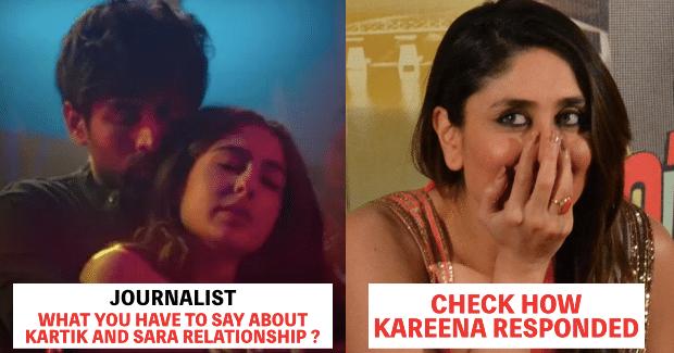 Kareena Kapoor Responds To The Question Of Sara & Kartik's Relationship