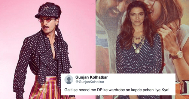 Ranveer shares his Latest Avatar, Netizens Asks 'has he borrowed this dress from Deepika's Wardrobe'?