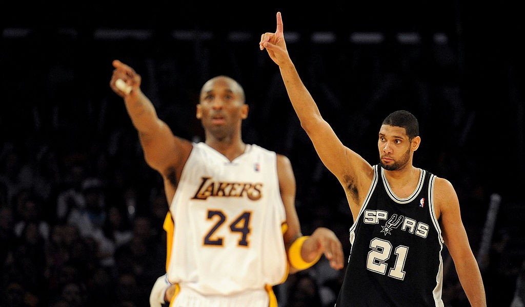 The shock as Spurs and Raptors players learned of Kobe Bryant's passing
