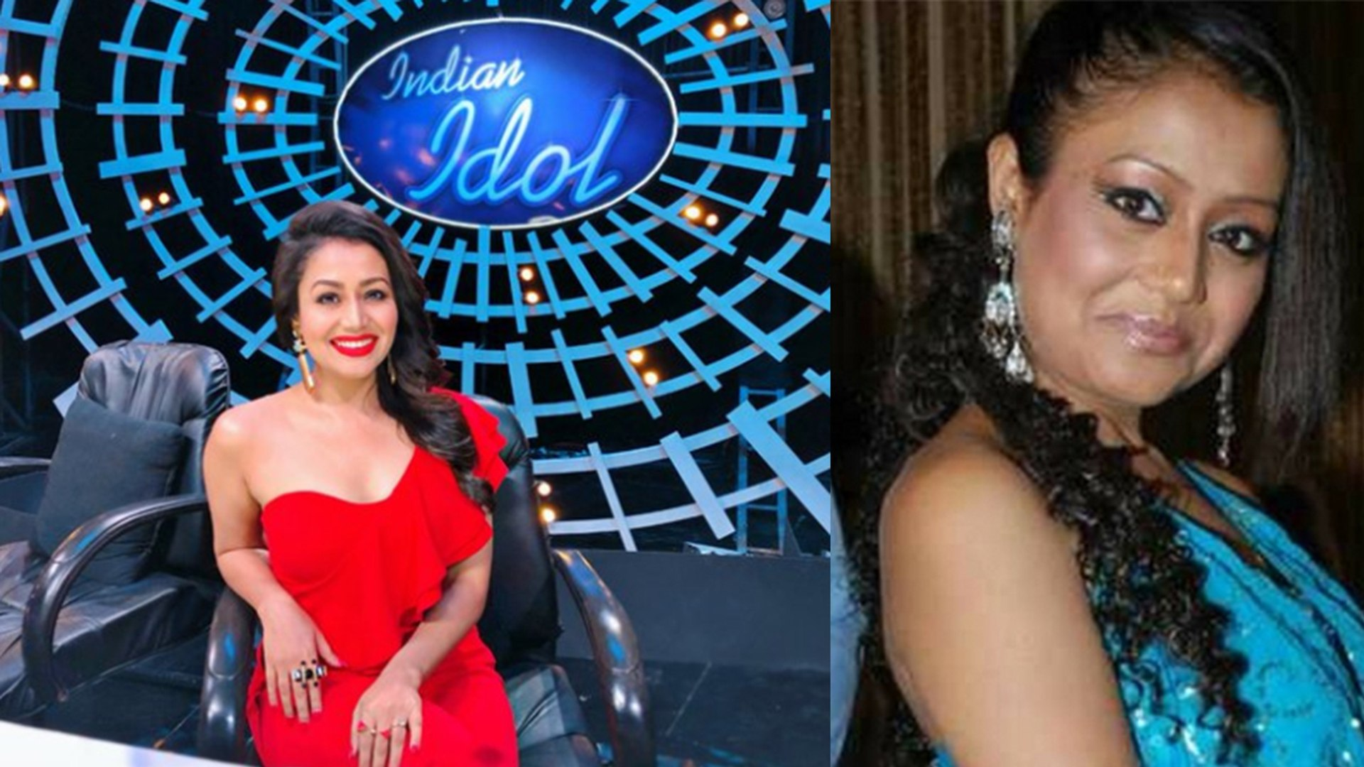 Image result for neha kakkar as contestant in indian idol