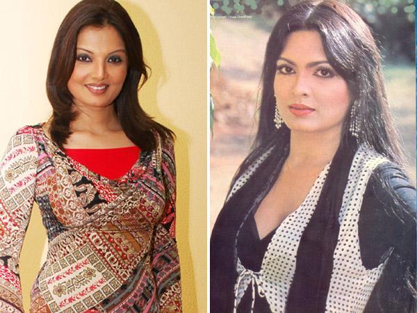 Deepshika and Parveen Babi