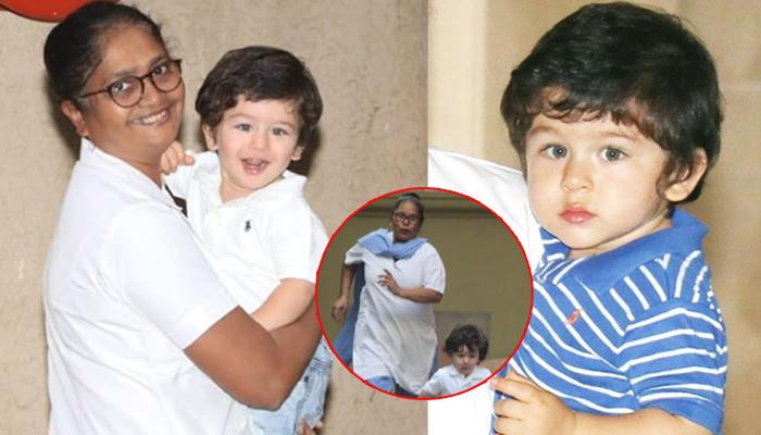 Image result for taimur and nanny