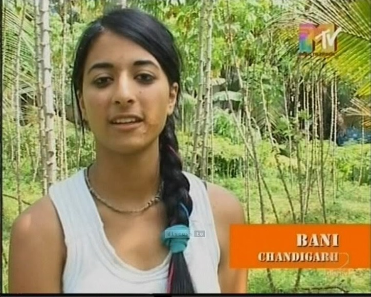 Image result for bani j in roadies as contestant