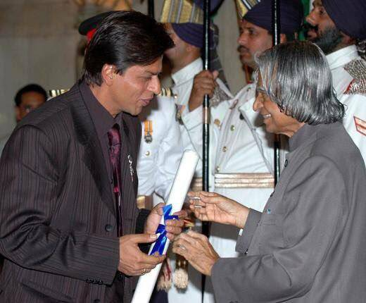 Image result for padmashree award srk