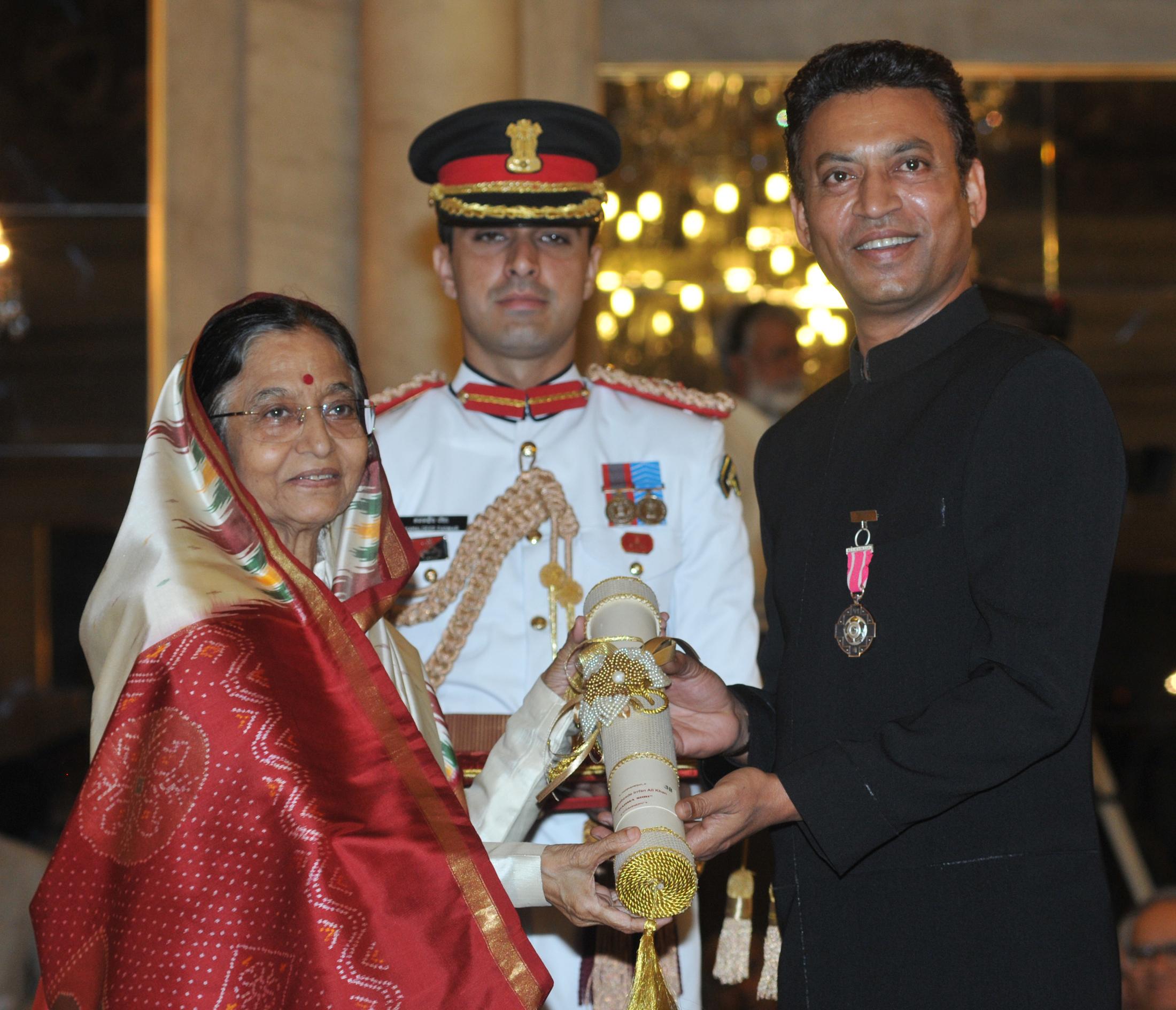 Image result for padmashree award8. Irrfan Khan