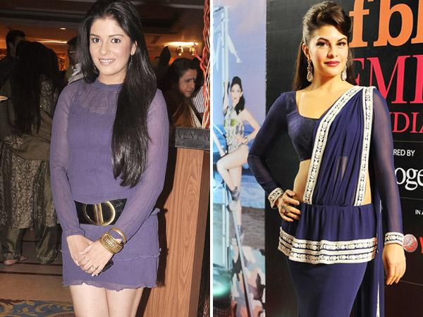 Pooja Gor and Jacqueline Fernandes