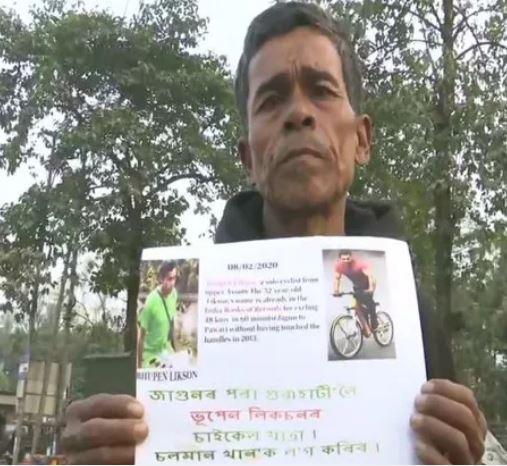 Crazy fan cycles 600 km to meet Salman Khan