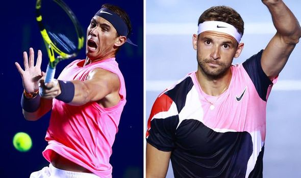 Rafael Nadal Vs Grigor Dimitrov Live Stream How To Watch Mexican Open Match Online Wink Report