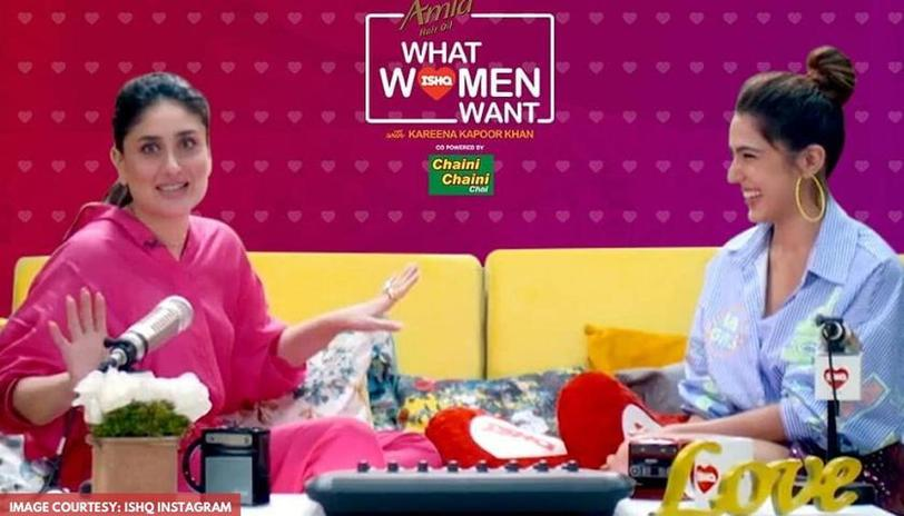 Image result for kareena show what women want with sara