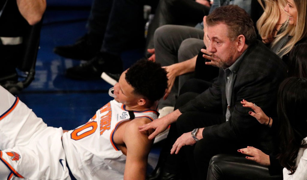 Charles Oakley's dire James Dolan warning after Spike Lee fiasco
