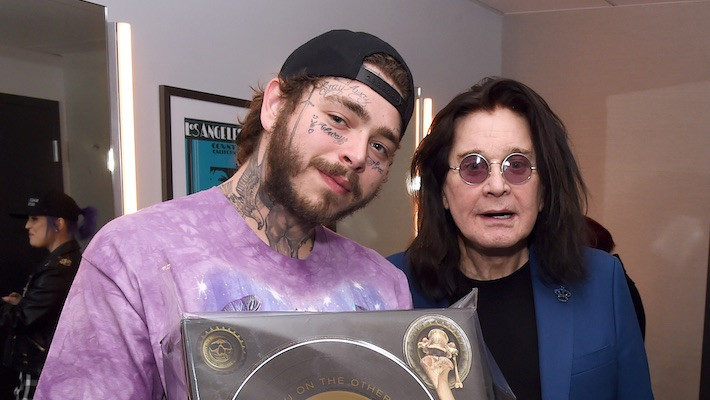 Post Malone Joins Ozzy Osbourne on 'It's a Raid'