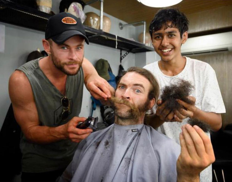 Here Is How 16 Yr Old Indian Actor Got Golden Chance To Work With Thor Aka Chris Hemsworth Wink Report