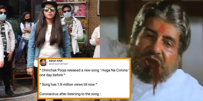 Dhinchak Pooja's New Song on Coronavirus is Viral, People calls 'Song is Much Dangerous than Virus