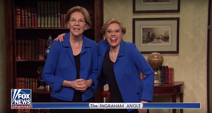 Warren Joins 'SNL,' Kate McKinnon for Cold Open