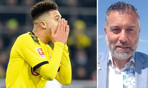 Sancho to reject Manchester United if they miss out on Champions League