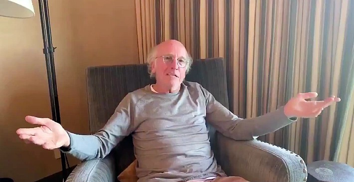 Larry David urges 'the idiots' to stay home during coronavirus lockdown