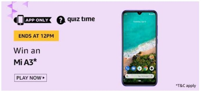 Amazon-Quiz-today-july-12