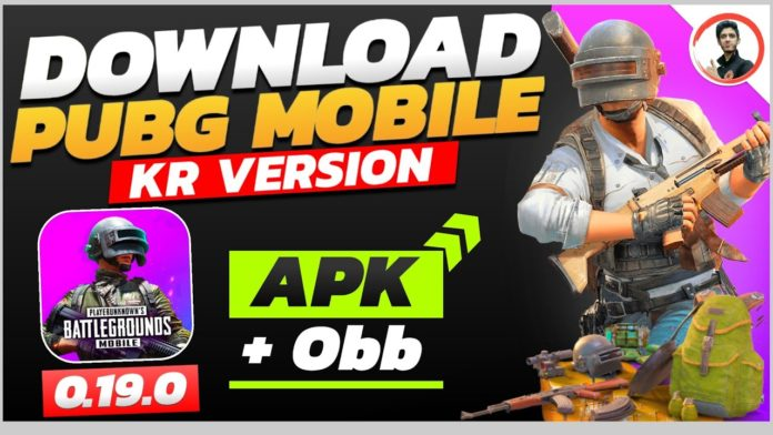 pubg korean apk and obb download