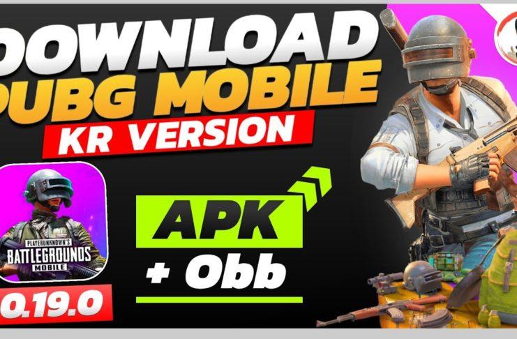 pubg korean apk and obb download