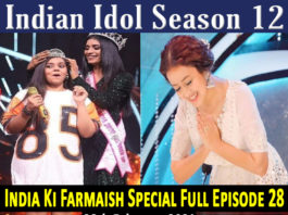 Indian-Idol-Season-12-Episode-28-India-Ki-Farmaish-MX-Player-28th-February-2021