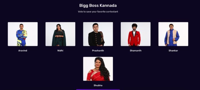 Bigg Boss Kannada 8 voting week 5